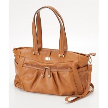 10ポケット付大きめ2WAYトートバッグ(A4対応) トートバッグ・手提げバッグ, Bags