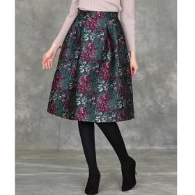 ef-de / エフデ 《Maglie par ef-de》フラワージャガードスカート