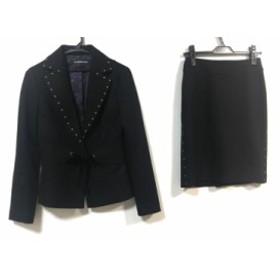 ヴィヴィアンタム VIVIENNE TAM スカートスーツ サイズ0 XS レディース 美品 黒【中古】20190831