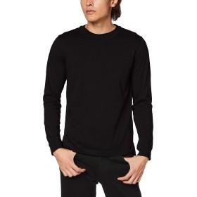 (ディーゼル) DIESEL メンズ Tシャツ 長そで レイヤードデザイン 00SXEC0DAWM XL ブラック 900