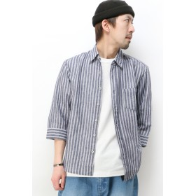 シャツ - ikka 7SノルマンディーリネンSTシャツ