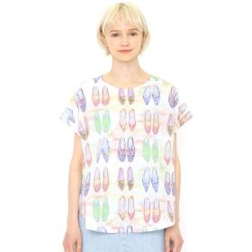 (グラニフ) graniph ボックス Tシャツ (ヴァリアス シューズ) (マルチ) レディース Lady(F) (g14)
