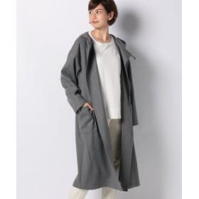 (MARcourt/マーコート)【mizuiro ind】hooded long コート/レディース GRAY 送料無料