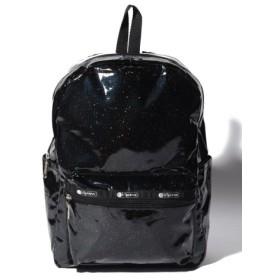(LeSportsac/レスポートサック)MEDIUM CARSON BACKPACK ブラックグリッター/レディース ブラック系