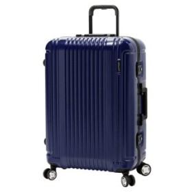 (Bag & Luggage SELECTION/カバンのセレクション)バーマス プレステージ3 スーツケース 軽量 フレーム 受託手荷物規定内 Lサイズ 87L BERMAS 60286/メンズ ネイビー 送料無料
