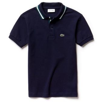 ボーイズラインドカラーポロシャツ