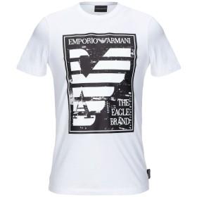 《期間限定セール開催中!》EMPORIO ARMANI メンズ T シャツ ホワイト XXS コットン 100%