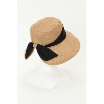 帽子全般 - ikka UVポリジュートリボンハット