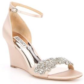 [バッジェリーミシュカ] レディース サンダル Aliyah Wedge Dress Sandals [並行輸入品]