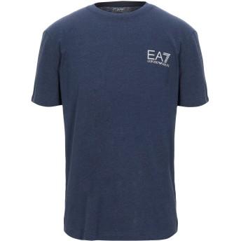 《セール開催中》EA7 メンズ T シャツ ブルー XXS コットン 85% / ポリエステル 15%