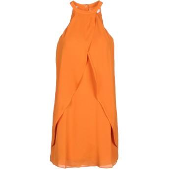《セール開催中》A.L.C. レディース ミニワンピース&ドレス オレンジ 10 シルク 100%