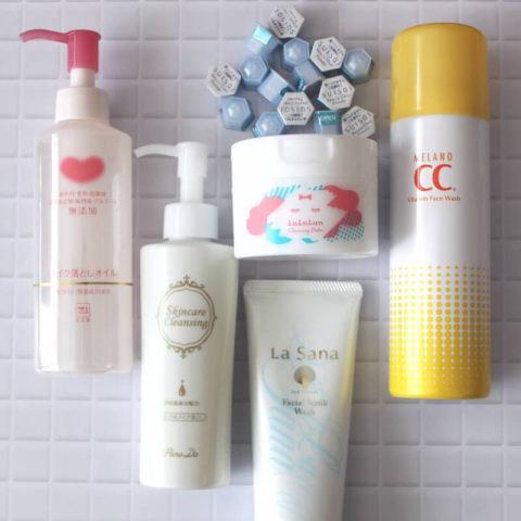 なりたい肌は洗顔から!夏におすすめのクレンジング・洗顔料