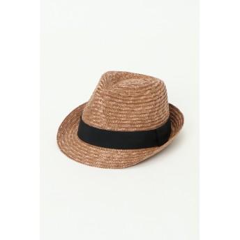 帽子全般 - ikka ストロー中折れハット