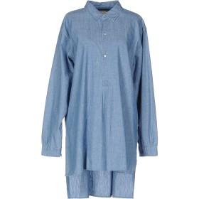 《9/20まで! 限定セール開催中》MARC BY MARC JACOBS レディース ミニワンピース&ドレス ブルー S コットン 100%