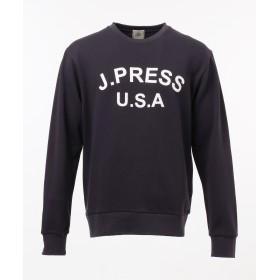 【オンワード】 J.PRESS MEN(ジェイ・プレス メン) SUPIMACOTTON LOGOトレーナー ネイビー L メンズ 【送料無料】
