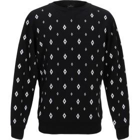 《期間限定セール開催中!》MARCELO BURLON メンズ T シャツ ブラック XL コットン 100% / ポリウレタン / ポリエステル