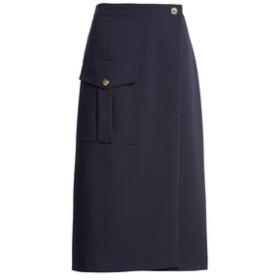 【バナナ・リパブリック:スカート】ユーティリティ ラップスカート