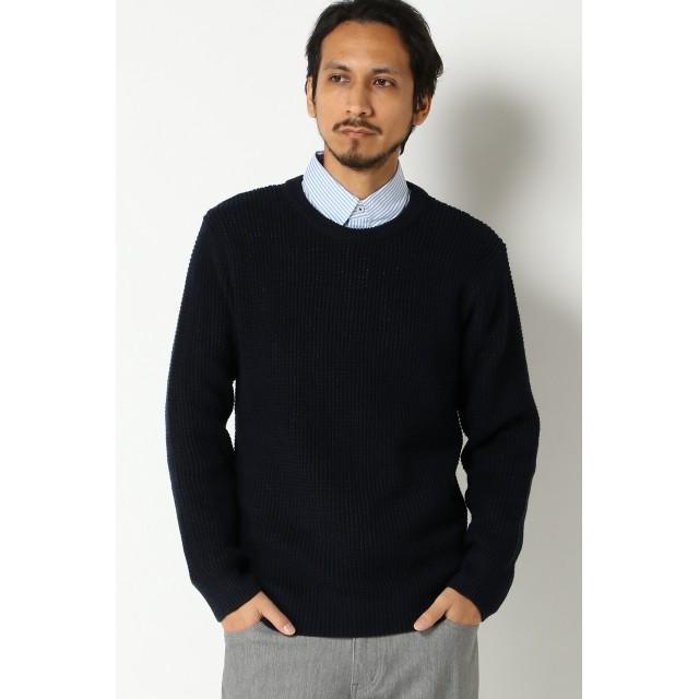 ニット・セーター - ikka ワッフルニットプルオーバー