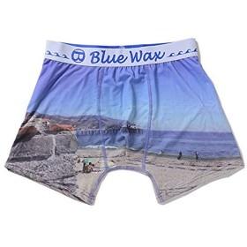 (ブルーワックス)Blue Wax The sea and the bridge ボクサーパンツ M(76-84cm) -【-】