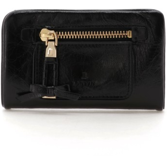 LANVIN en Bleu(BAG) LANVIN en Bleu ランバンオンブルー アメリ 二つ折り財布 財布,ブラック