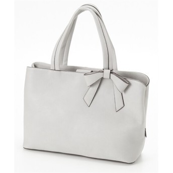 取りはずし可能なリボンチャーム付トートバッグ トートバッグ・手提げバッグ, Bags, 鞄