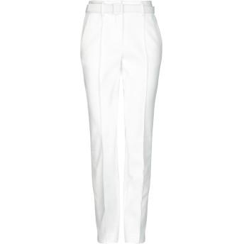 《セール開催中》OFF-WHITE レディース パンツ ホワイト 42 ナイロン 61% / コットン 35% / ポリウレタン 4%