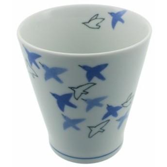 有田焼 フリーカップ 青い鳥 50496