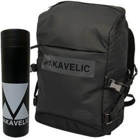 マキャベリック(MAKAVELIC) デイパック BOX-LOGO UNIVERSE DAYPACK ブラック 3108-10113/MV BTL リュックサック バックパック カジュアルバッグ