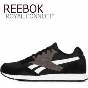 リーボック ロイヤルコネクト スニーカー REEBOK メンズ レディース ROYAL CONNECT ロイヤル コネクト BLACK ブラック CM9640 シューズ