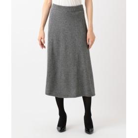 【オンワード】 JOSEPH WOMEN(ジョゼフ ウィメン) WOOL CASHMERE KNIT スカート グレー M レディース 【送料無料】