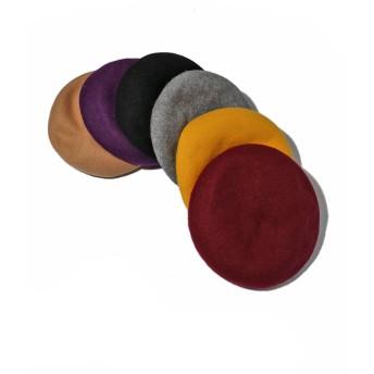 ベレー帽 - SPINNS フェルトベレー帽B