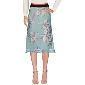 《期間限定セール開催中!》MARNI レディース 7分丈スカート スカイブルー 40 シルク 90% / コットン 10%