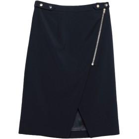 《期間限定セール開催中!》VANESSA BRUNO レディース 7分丈スカート ダークブルー 38 ウール 98% / ポリウレタン 2%