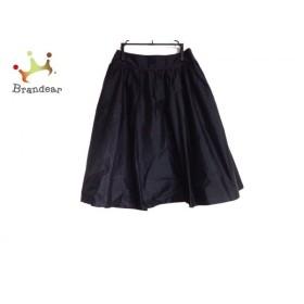 マッキントッシュフィロソフィー MACKINTOSH PHILOSOPHY スカート サイズ34 M レディース 黒 新着 20190903