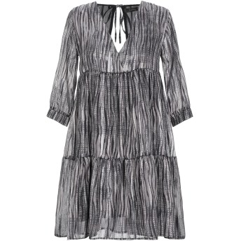 《期間限定セール開催中!》SOALLURE レディース ミニワンピース&ドレス 鉛色 40 ポリエステル 100%