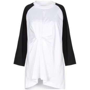 《9/20まで! 限定セール開催中》MARQUES' ALMEIDA レディース T シャツ ホワイト S コットン 100%