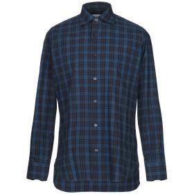 《期間限定セール開催中!》GIAMPAOLO メンズ シャツ ブルー 39 コットン 100%