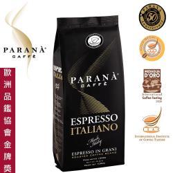 ◎國際義大利咖啡品鑑學會(IIAC)金牌獎|◎歐洲國家級咖啡認證|◎義大利原裝進口、百年咖啡文化技術的精隨品牌:PARANA主要類型:咖啡豆風味:義式保存期限:6個月烘焙程度:中烘焙內容物說明:100