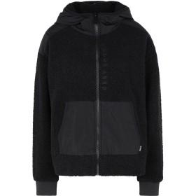 《セール開催中》DKNY レディース スウェットシャツ ブラック S ポリエステル 100%