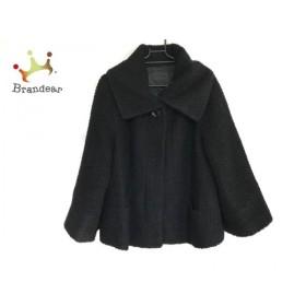 アンタイトル UNTITLED コート サイズ2 M レディース 黒 ショート丈/冬物 新着 20190903