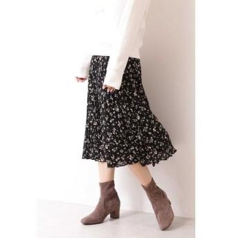 PROPORTION BODY DRESSING / プロポーションボディドレッシング  |美人百花 10月号掲載|ペタルフラワープリントワッシャープリーツスカート