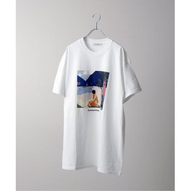 【30%OFF】 ジャーナルスタンダード RIRI / リリ : Summer time collabo S/S メンズ ホワイト L 【JOURNAL STANDARD】 【セール開催中】