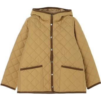 【6,000円(税込)以上のお買物で全国送料無料。】キルティングフードジャケット