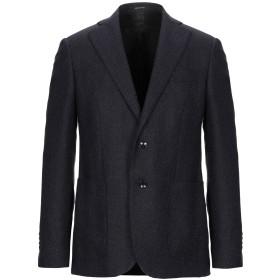 《期間限定セール開催中!》ANGELO NARDELLI メンズ テーラードジャケット ダークブルー 48 バージンウール 77% / コットン 20% / カシミヤ 3%