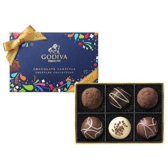 ゴディバ チョコレート カーニバル トリュフ コレクション(6粒入)