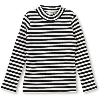 ブランシェス テレコハイネックTシャツ レディース オフホワイト 90cm 【branshes】