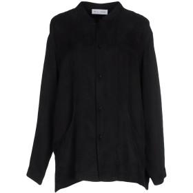 《期間限定セール開催中!》WEILI ZHENG レディース シャツ ブラック L キュプラ 60% / レーヨン 40%
