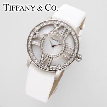 Tiffany&Co. Atlas Cocktail Round WG金無垢 レディースウォッチ レディース