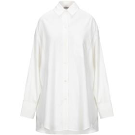 《セール開催中》VINCE. レディース シャツ アイボリー XS コットン 86% / シルク 14%