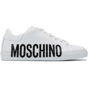 Moschino ロゴ スニーカー - ホワイト